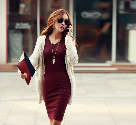 Những kiểu váy đầm ôm boby khoe đường cong hoàn hảo