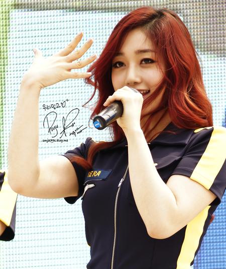 101 kiểu màu tóc nhuộm đỏ nâu cực đẹp của sao kpop 2017