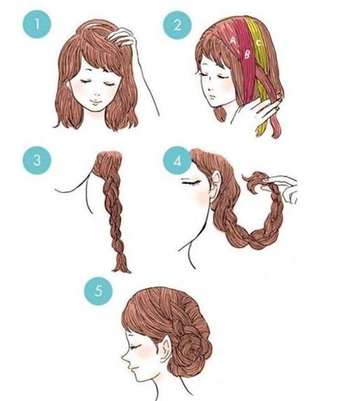 Xinh hơn với những kiểu tóc đơn giản siêu dễ làm cho bạn gái